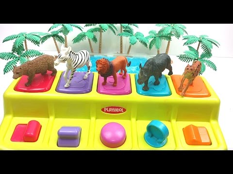 Learn Shapes/Zoo Animals/Sea Animals/Colors with fun Toys/30 min long Learning video /Nursery Rhyme/