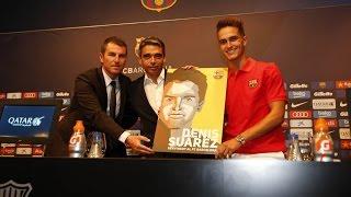 """Denis Suárez: """"I can bring versatility to Barça"""""""