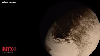 NASA revela impresionante video de Plutón captado por la sonda New Horizons