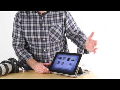How to use the Apple iPad Camera Connection Kit.