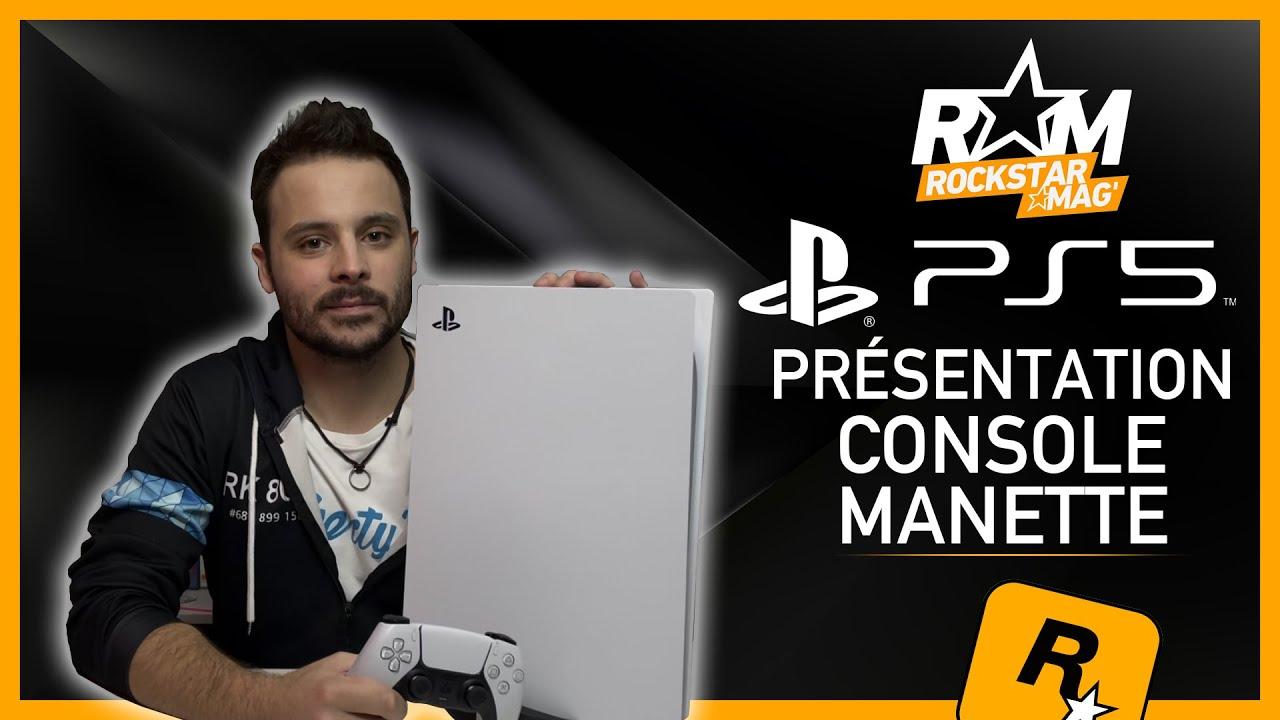 PLAYSTATION 5 - DÉCOUVREZ LA PS5 ET SA MANETTE DUALSENSE !