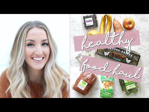 HEALTHY FOOD HAUL | Weekly Staples on a Budget!