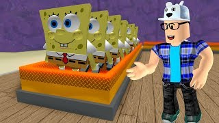 I BUILT THE SPONGE BOB FACTORY IN ROBLOX!! -Play Old man