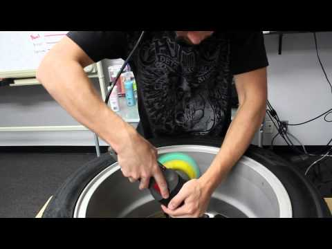 How To Clean & Polish Wheels and Rims with Porter Cable 7424XP - Chemical Guys EPIC SHINE POLISHING