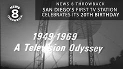 News 8 Throwback: San Diego's first TV station celebrates its 20th birthday in 1969