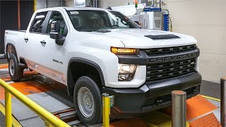 American Truck Factory Tour (4K) -  Production 2020 Silverado and 2020 Sierra