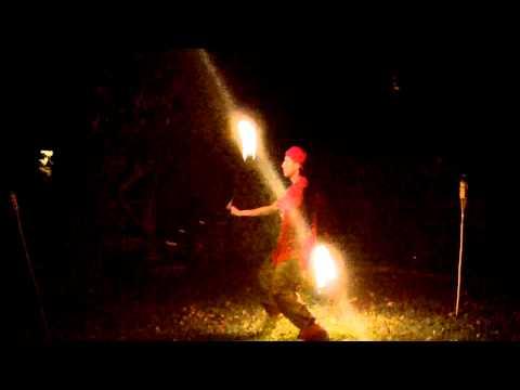 Benny Benassi - Cinema (Skrillex Remix) [Freestyle Fire Poi ]