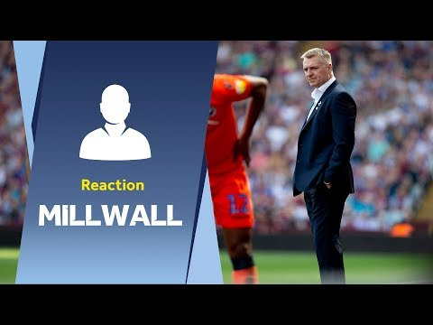 Dean Smith's Millwall reaction: We're on to a good thing