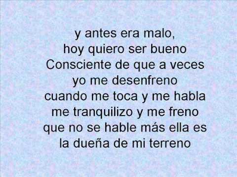 Lyrics containing the term: gracias a ti by wisin y yandel