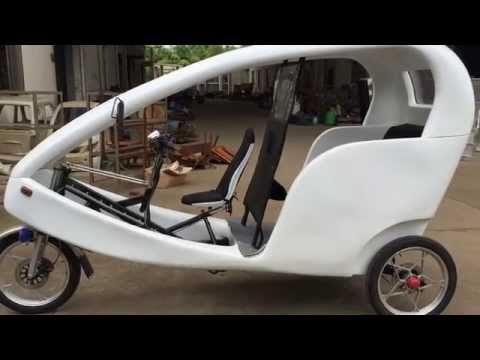 ZZMERCK Electric Taxi  Bike Rickshaw Detail Show