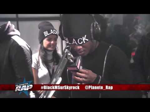 Black M avec Maitre Gims sur Skyrock (Planete Rap 2014)