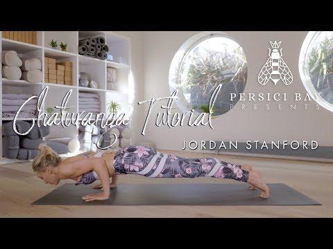 Chaturanga - Key Yoga Pose Breakdown with Jordan Stanford | Persici Bay