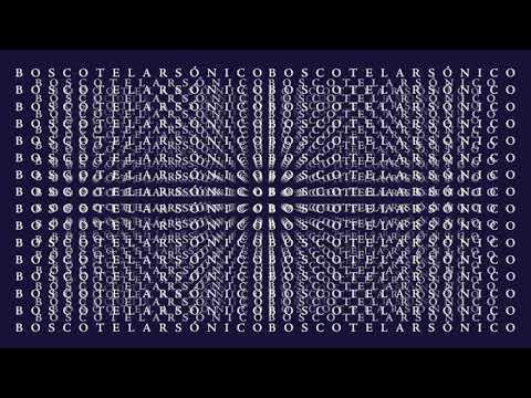 Bosco - Telar Sónico (Official Audio)