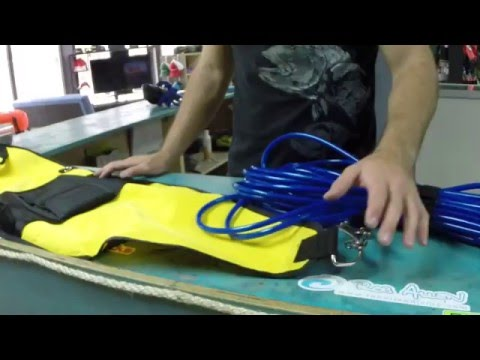 How To Setup Blue Water Spearfishing Float And Floatline To Speargun