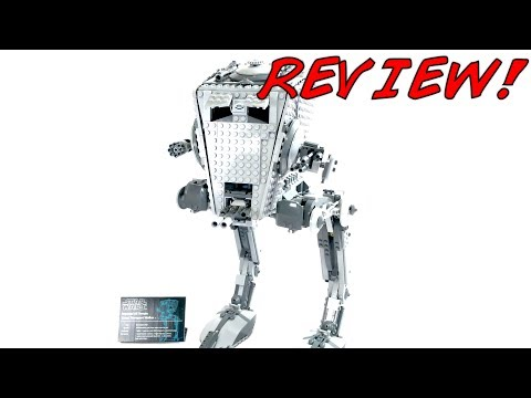LEGO Star Wars UCS AT-ST 10174 Review! 2006 Set!