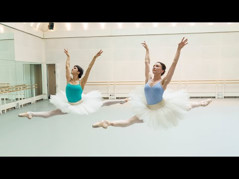Swan Lake in rehearsal