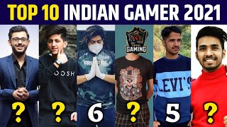Who is No.1 Gamer in India | Top 10 Gaming YouTuber in India 2021, Techno Gamerz, Total Gaming