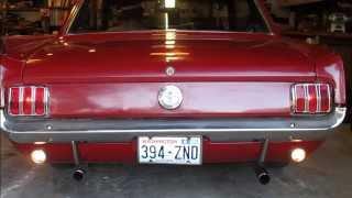 1966 MUSTANG - TEST DRIVE & INSPECTION - www.joeandreuclassiccars.com