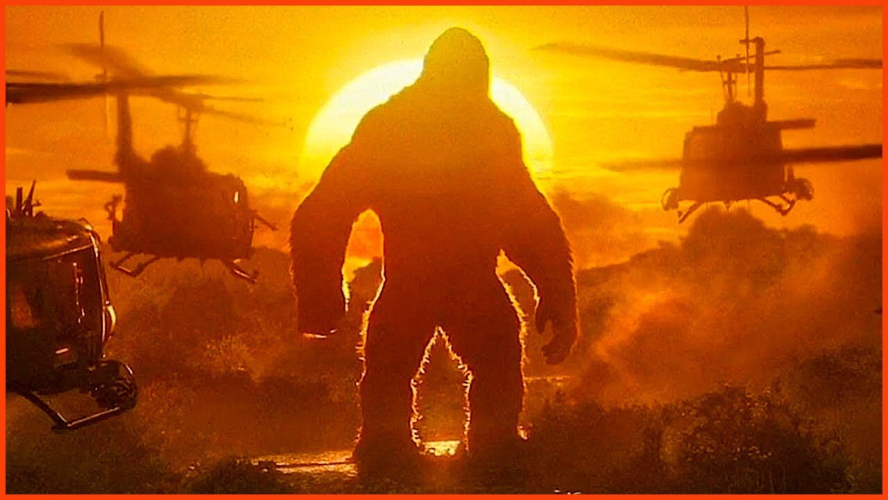 """Download Kong Vs Helicopters - """"Is That A Monkey?"""" 