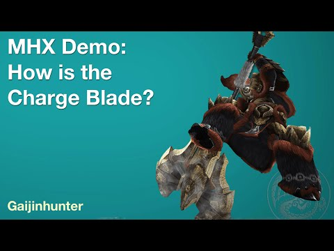 MHX Demo [Live]: How is Charge Blade?