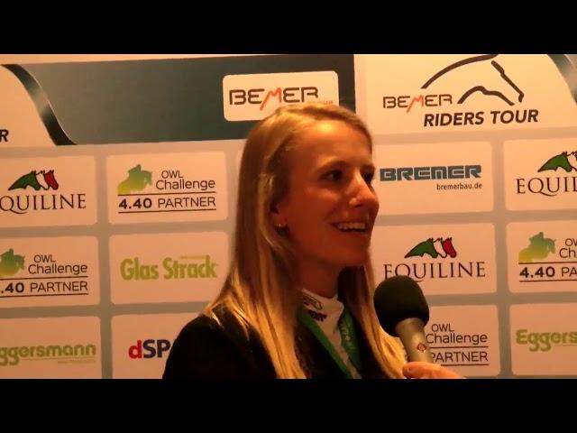 Finja Bormann  -  über Pferde und Glücksbringer