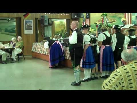 Authentic Bavarian folk dancers - German Club Pinellas Park, FL