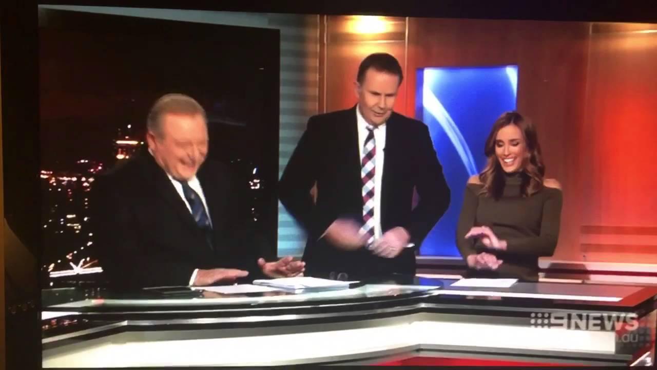 Rebecca Judd Shuts Downs Tony Jones on Channel 9 News