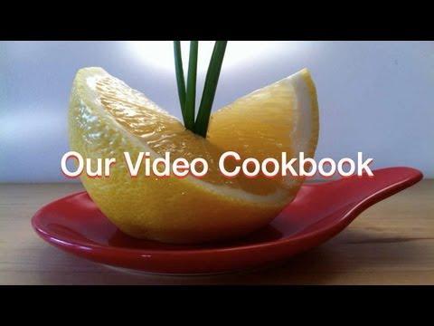 Lemon - Decoration | Technique #53 | Our Video Cookbook