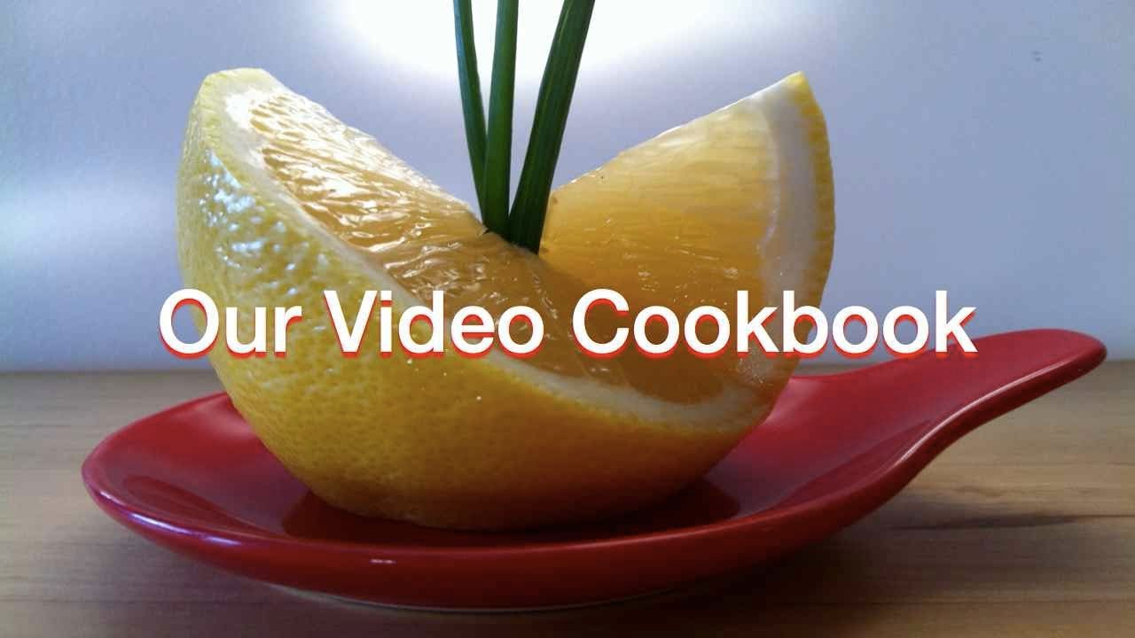 Lemon Decoration Technique 53 Our Video Cookbook