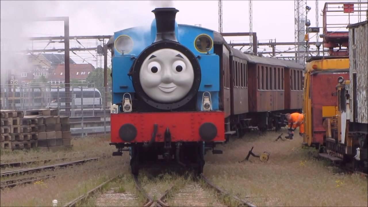En Dag Med Thomas Tog På Danmarks Jernbanemuseum 2014 Youtube