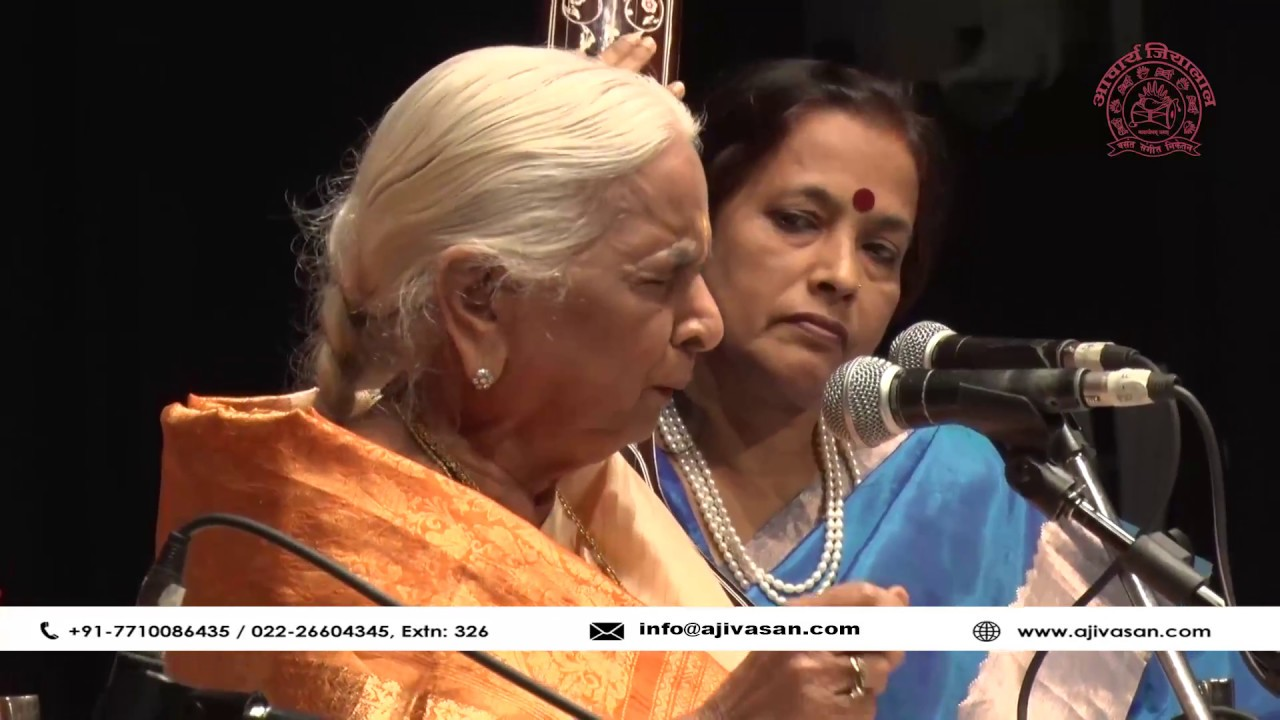 Girija Devi | Thumri | Indian Classical Singer | Performance at The Legends  2017 | Part 02
