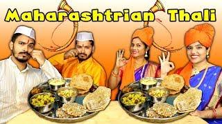 Maharashtrian Thali Challenge | Cultural Food Competition