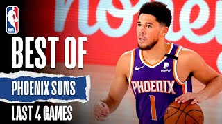 The phoenix suns have won their first 4 games in orlando! watch best moments from wins during nba restart! #wholenewgamesubscribe to nba: https...