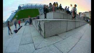 valentin backside heelflip at bercy