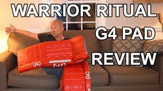 Warrior Ritual G4 Goalie Pad Review