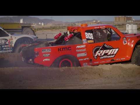 Sara Price & Erica Sacks race RPM Offroad Trick Truck at Laughlin Desert Classic