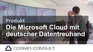 Die Microsoft Cloud mit deutscher Datentreuhand