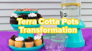 4 Ways To Transform Terra Cotta Pots