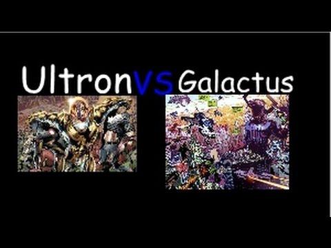 Ultron Vs Galactus - Y...
