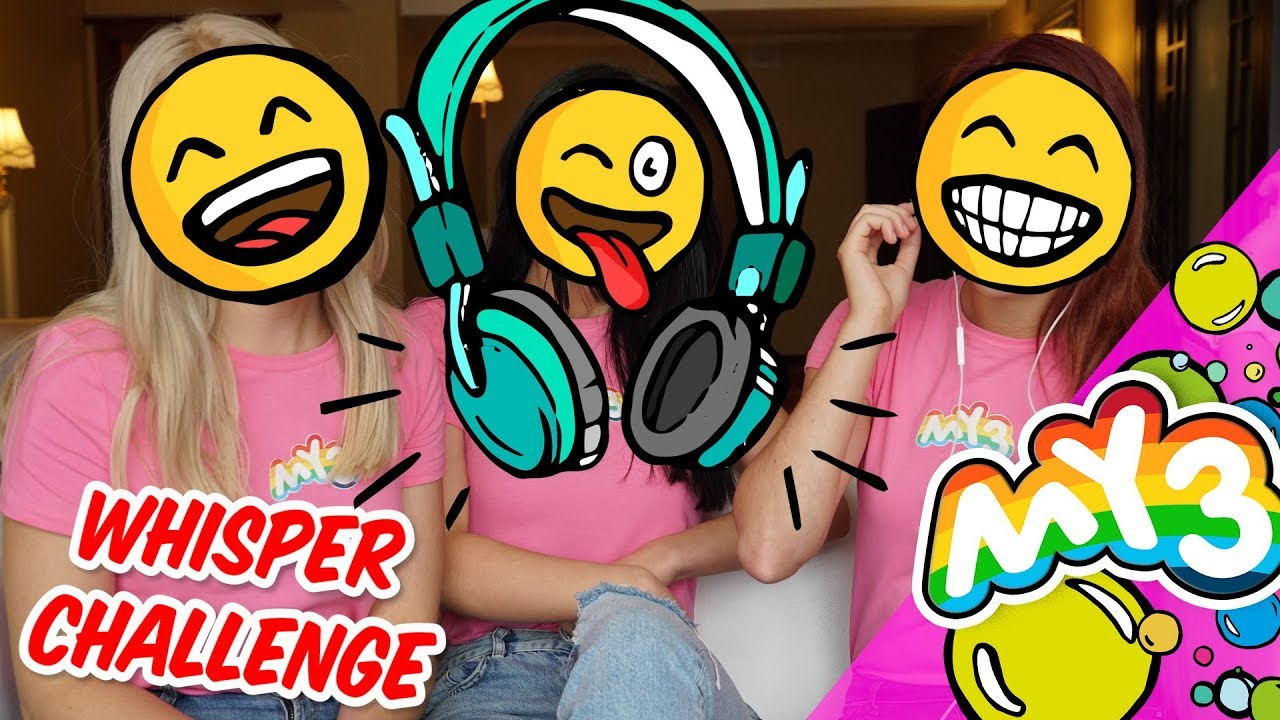 Zgadujemy piosenki tylko z ruchu ust - Whisper Challenge #1