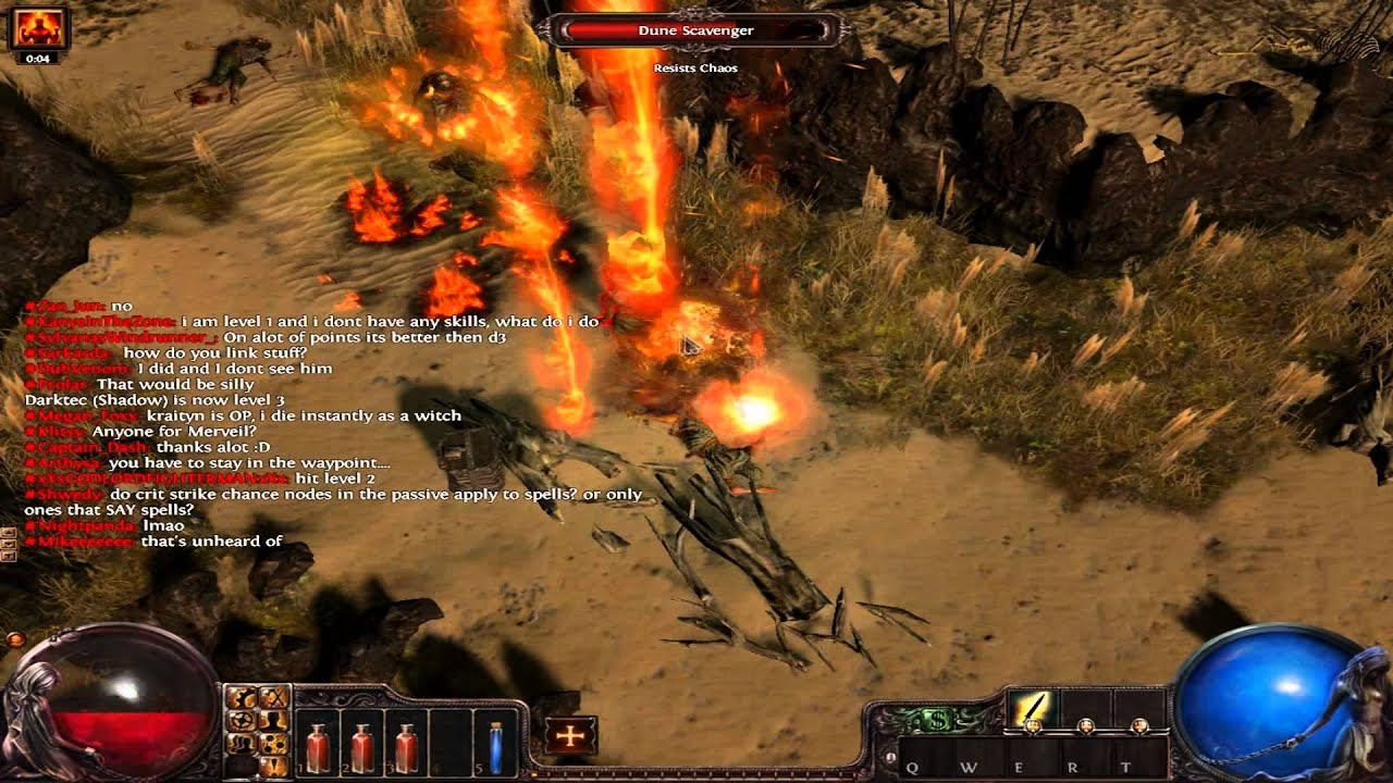 how to play path of exile