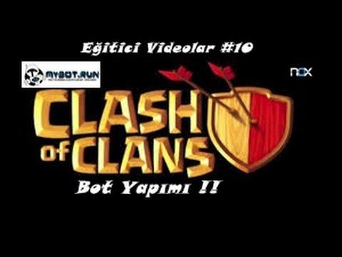 Clash Of Clans(Nox)Bot Yapımı!!! Eğitici Videolar #10