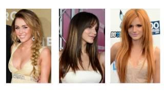 Nowoczesne długie fryzury damskie