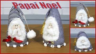 Aprenda Fazer Boneco Decorativo Para o Natal – Papai Noel