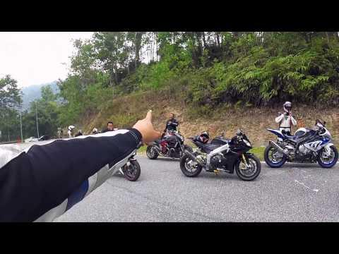 Mesra Bikers Bloopers Ride to Bentong