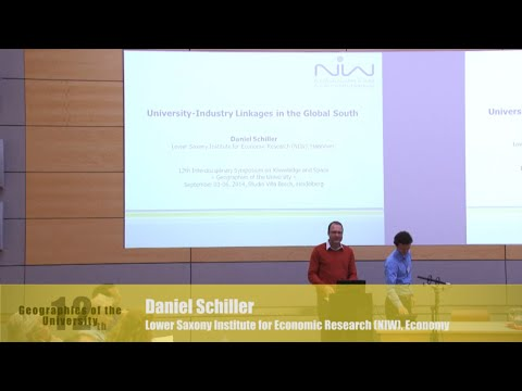 "Daniel Schiller: ""University-Industry Linkages in the Global South"""