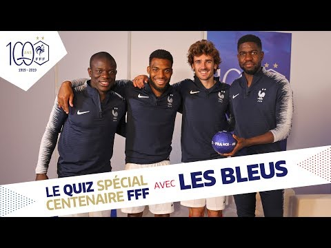 Kante accused of cheating again by his French NT teammates- this time in the FFF Centenaire Quiz!
