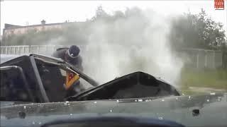 Korkunç Trafik Kazaları Araç İçi Kamera