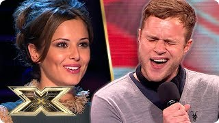 A young OLLY MURS sings Stevie Wonder in his VERY FIRST Audition | The X Factor UK