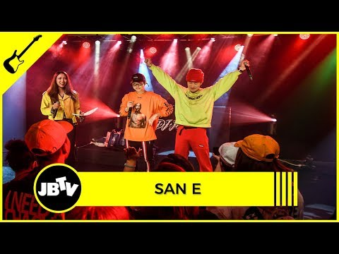 San E - Body Language Ft. Bumkey | Live @ JBTV